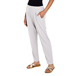 Wallis - Silver pull on trousers