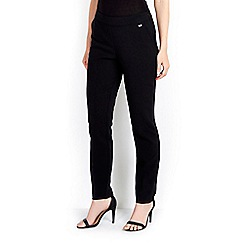 Wallis - Black side zip trouser