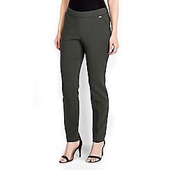 Wallis - Olive green side zip trouser