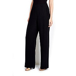 Wallis - Black wide leg trouser