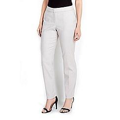 Wallis - Stone print jacquard trouser