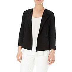Wallis - Black textured jacket