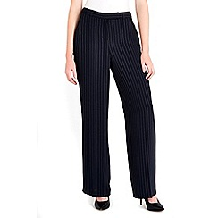 Wallis - Navy pinstripe trouser