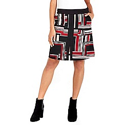 Wallis - Multi colour aline skirt
