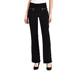 Wallis - Black zip pocket trouser
