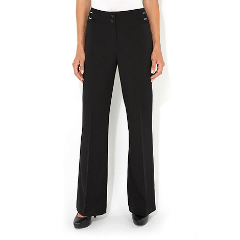 Wallis - Black bootcut trousers