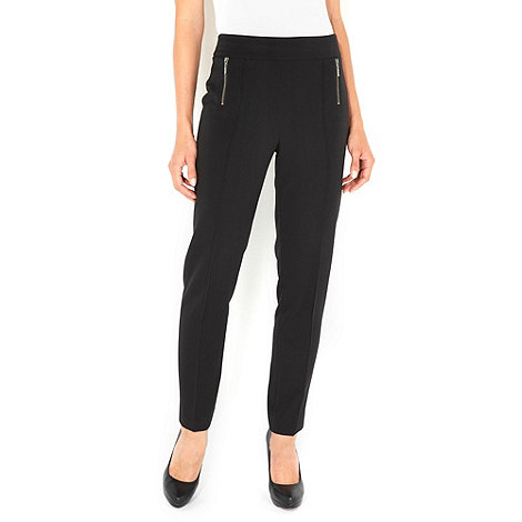 Wallis - Black slim leg trousers