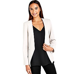 Wallis - Silver smart blazer