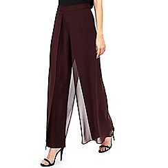 Wallis - Berry overlayer trousers