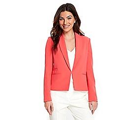 Wallis - Coral smart blazer