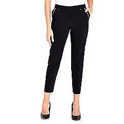 Wallis - Black tapered trouser