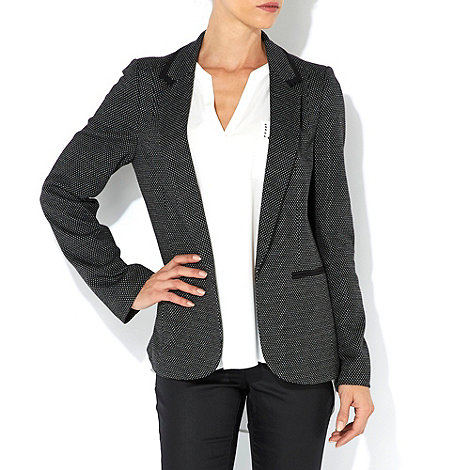 Wallis - Black spot blazer