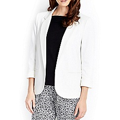 Wallis - Ivory tailored blazer
