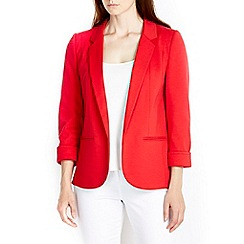 Wallis - Red ponte blazer