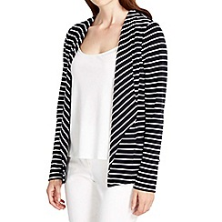 Wallis - Nautical striped short jacket