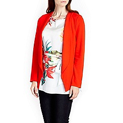 Wallis - Tomato red short jacket
