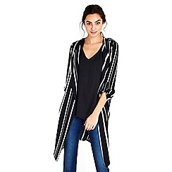 Wallis - Monochrome stripe duster jacket