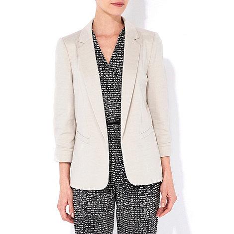 Wallis - Stone blazer