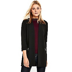 Wallis - Black longline blazer jacket