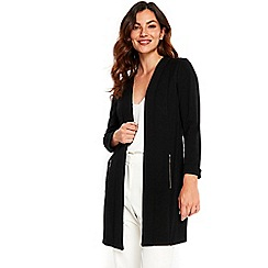 Wallis - Black longline blazer jacket