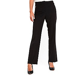 Wallis - Black straight leg trousers