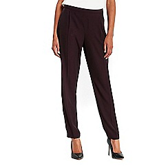 Wallis - Berry pull on trousers
