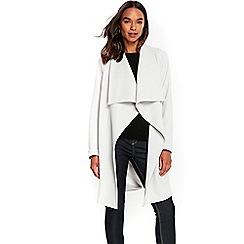 Wallis - Grey waterfall jacket