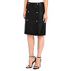 Wallis - Military skirt