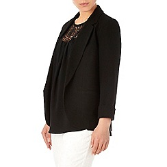 Wallis - Black crepe blazer