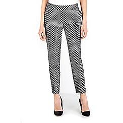 Wallis - Monochrome morrocan tile trouser