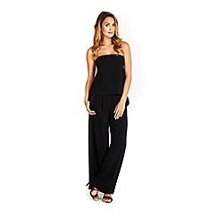 Wallis - Black wide leg trouser