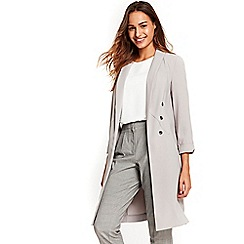 Wallis - Grey button duster jacket