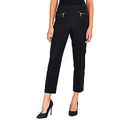Wallis - Black zip pocket trouser