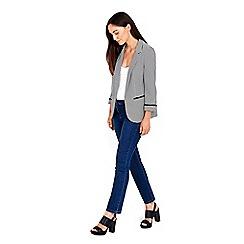 Wallis - Monochrome striped jacket