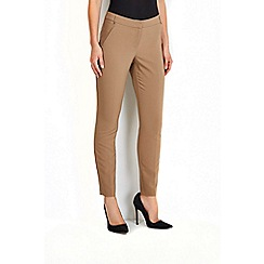 Wallis - Camel cotton pocket trouser