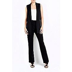 Wallis - Black ring bootcut trouser
