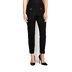 Wallis - Black zip trouser