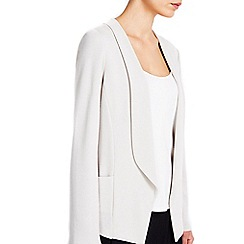 Wallis - Stone short morgan jacket