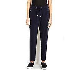 Wallis - Navy jogger trouser