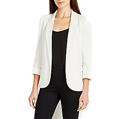 Wallis - Ivory tailored jacket