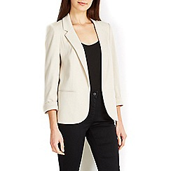 Wallis - Stone tailored blazer