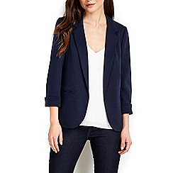 Wallis - Navy tailored blazer
