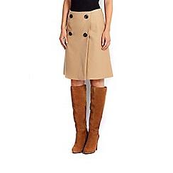 Wallis - Camel twill skirt