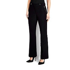 Wallis - Black bootcut trouser