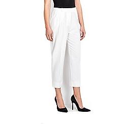 Wallis - Ivory crepe trouser
