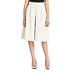 Wallis - Ivory prom skirt