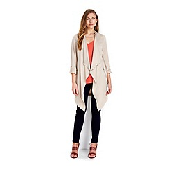 Wallis - Stone waterfall jacket