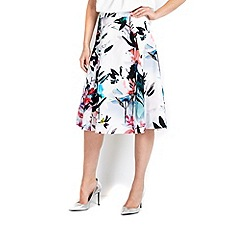 Wallis - Watercolour prom skirt