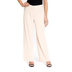 Wallis - Blush wide leg trousers