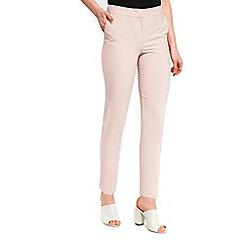 Wallis - Blush slim trousers